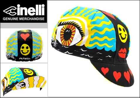 Cinelli Eye of the Storm Cotton Cap