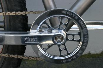 Chain Ring Trouser Guard